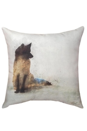 Manual Woodworkers and Weavers Watercolor Fox Pillow - Product Mini Image