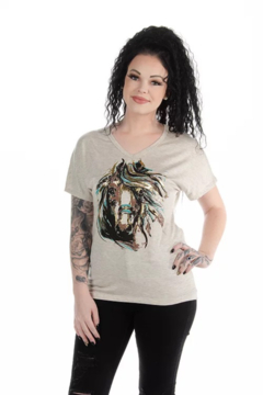 Liberty Wear Watercolor Horse T-Shirt - Product List Image