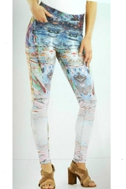 Coco + Carmen Watercolor Jeggings - Product Mini Image