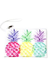 Lyn -Maree's Watercolor Pineapple Bag - Front cropped
