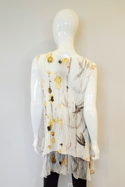 Komarov Watercolor Pleated Tunic - Front full body