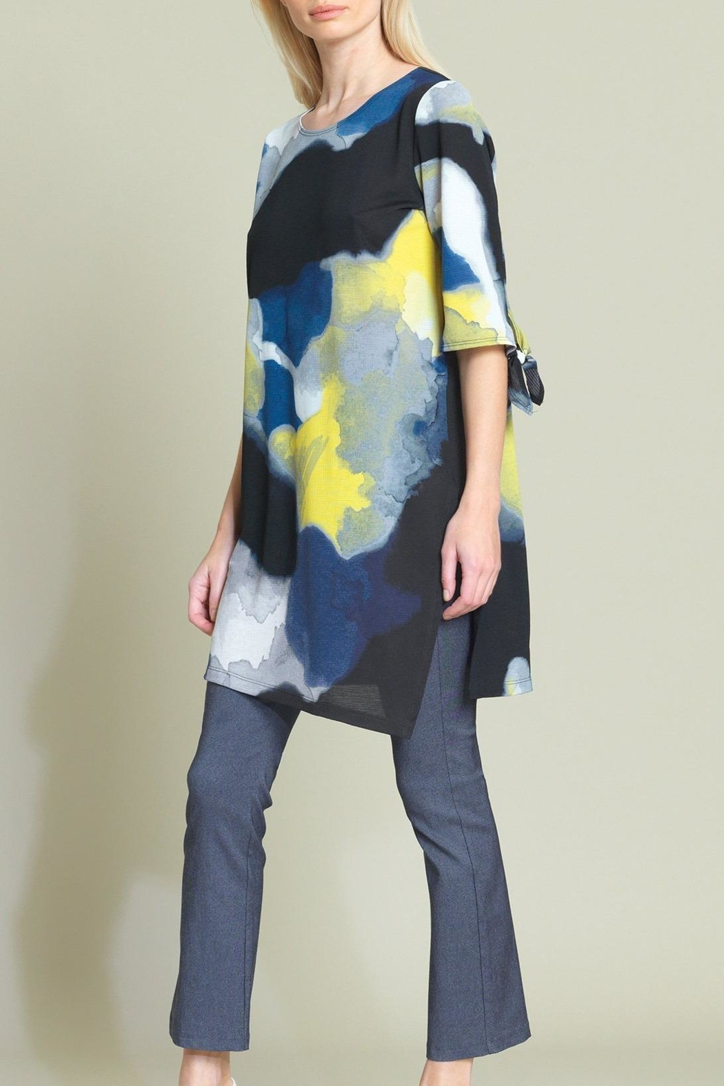 Clara Sunwoo Watercolor Print Tunic - Main Image