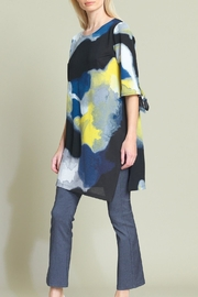 Clara Sunwoo Watercolor Print Tunic - Front cropped