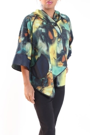Talk of the Walk Watercolor Reversible Jacket - Product Mini Image