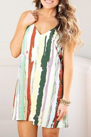 Pinch Watercolor Shift Dress - Product Mini Image
