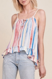 Jack by BB Dakota Watercolor Striped Top - Product Mini Image