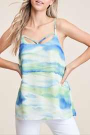 Staccato Watercolor Tank Top - Product Mini Image