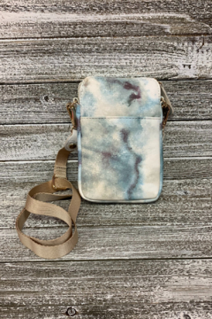 Sondra Roberts Watercolor Tie Dye Crossbody/Phone Bag - Alternate List Image