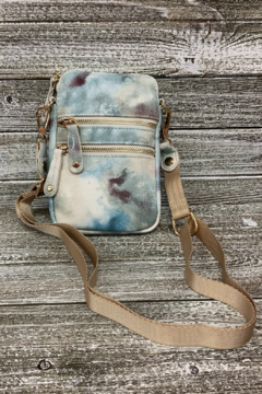 Sondra Roberts Watercolor Tie Dye Crossbody/Phone Bag - Product List Image