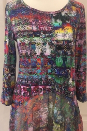 Lynn Ritchie Watercolor tunic top - Product Mini Image