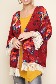 Umgee USA Watercolor Wonder kimono - Product Mini Image