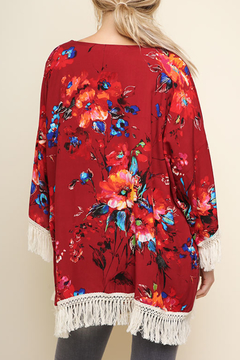 Umgee USA Watercolor Wonder kimono - Alternate List Image