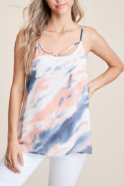 Staccato Watercolor Wonders Top - Front cropped