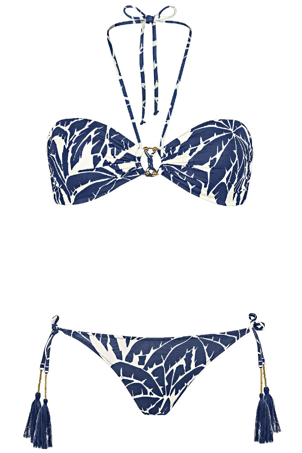 WATERCULT Clubcoco Bandeau Top - Front Full Image