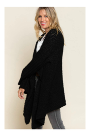 Pol Clothing Waterfall Cardigan Sweater - Side cropped
