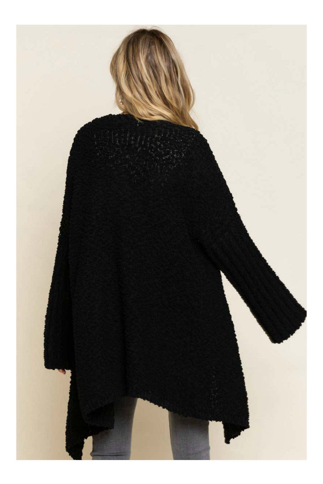 Pol Clothing Waterfall Cardigan Sweater - Front Full Image