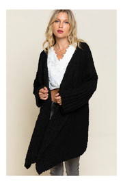 Pol Clothing Waterfall Cardigan Sweater - Front cropped