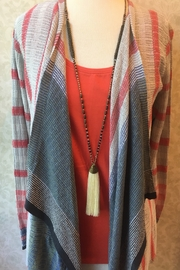 Nic+Zoe Waterfall front cardigan sweater - Product Mini Image