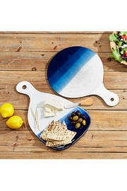 Two's Company Watermarks Serving Platter - Front full body