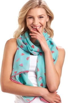 Giftcraft Inc.  Watermelon Print Scarf - Product List Image
