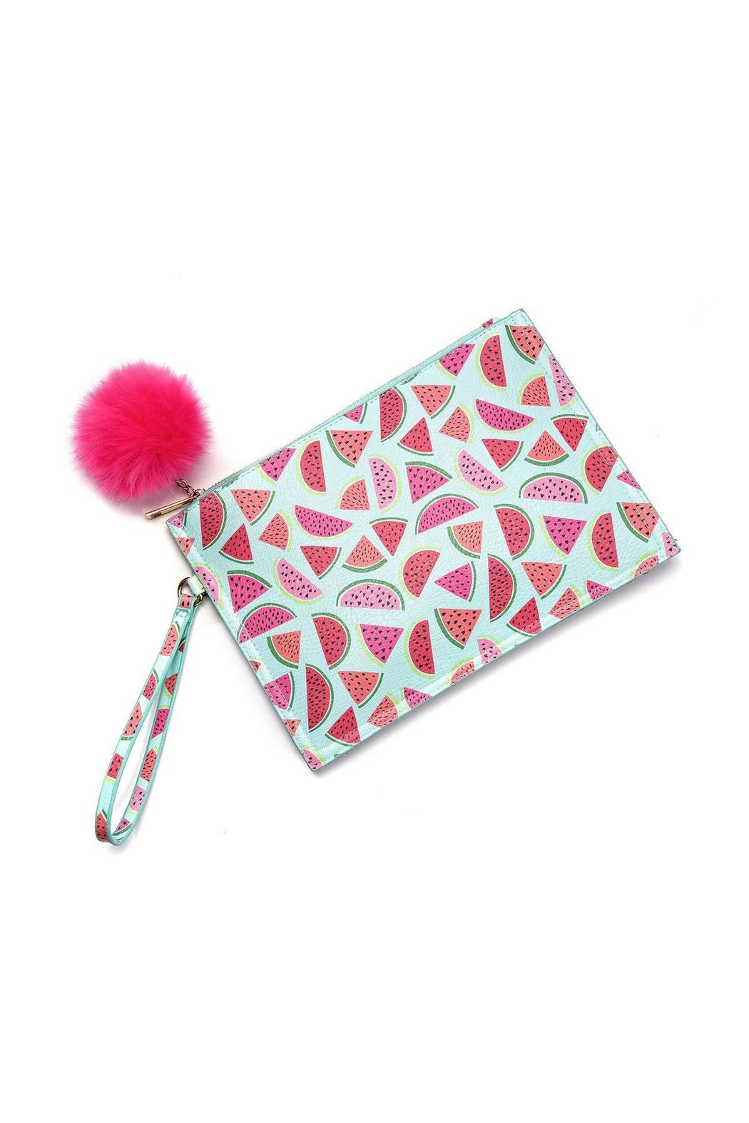 Giftcraft Inc.  Watermelon Print Wristlet - Front Cropped Image