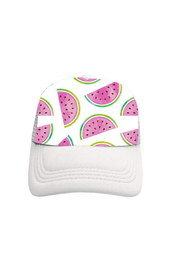 Tiny Trucker Watermelon Trucker Hat - Product Mini Image
