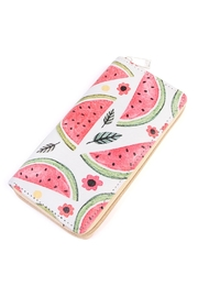 Riah Fashion Watermelon Zipper Wallet - Product Mini Image
