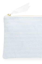 Sugar Paper Waterproof Stripe Pouch - Front cropped