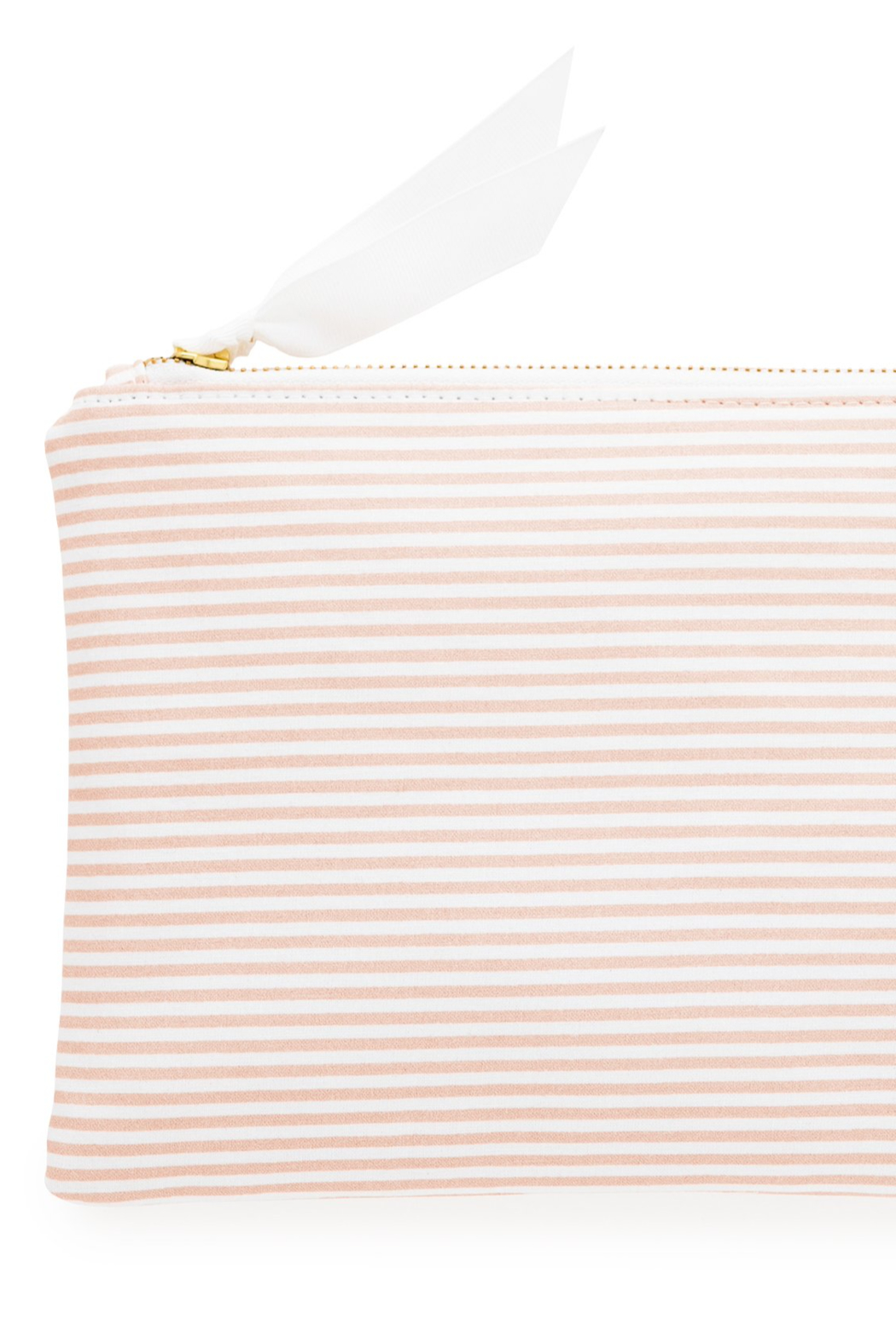 Sugar Paper Waterproof Stripe Pouch - Front Cropped Image
