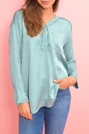 YFB On The Road Watson Satin Top - Side cropped