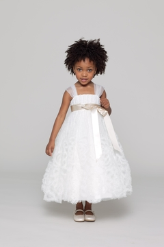Watters Flower Girl Tulle Dress - Product List Image