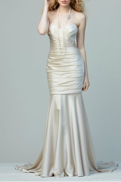 Shoptiques Product: Sweetheart Satin Mermaid Gown