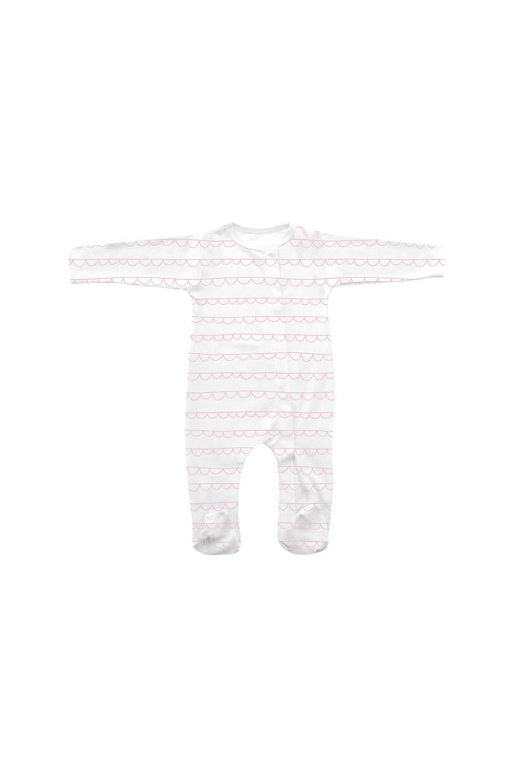 SAMMY & NAT Wave Footie Romper - Front Cropped Image