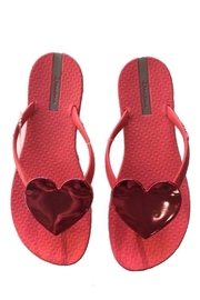 Ipanema Wave-Heart Sandals - Front cropped
