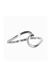 Pura Vida WAVE RING-SILVER - Product Mini Image