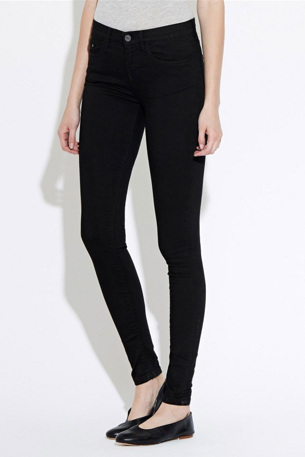 waven Skinny Denims Black - Front Full Image