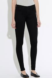 waven Skinny Denims Black - Side cropped