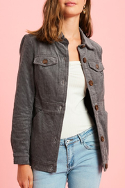 Listicle Waverly Jacket - Front cropped