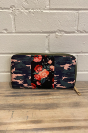 Wear N E Wear Waverly Rose & Camo Wallet - Product Mini Image