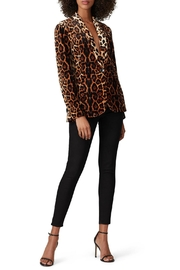 Waverly Grey Leopard Velvet Blazer - Product Mini Image