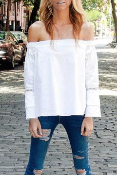 Shoptiques Product: White Barry Top