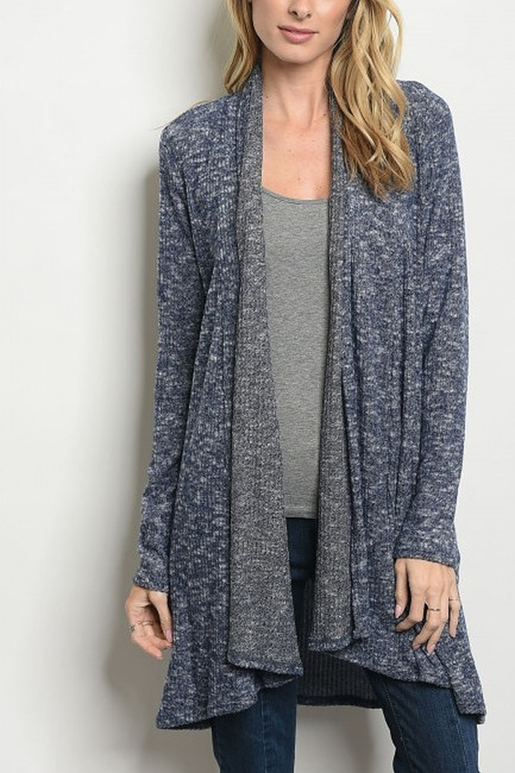 Lyn -Maree's Wavy Cardi - Front Cropped Image