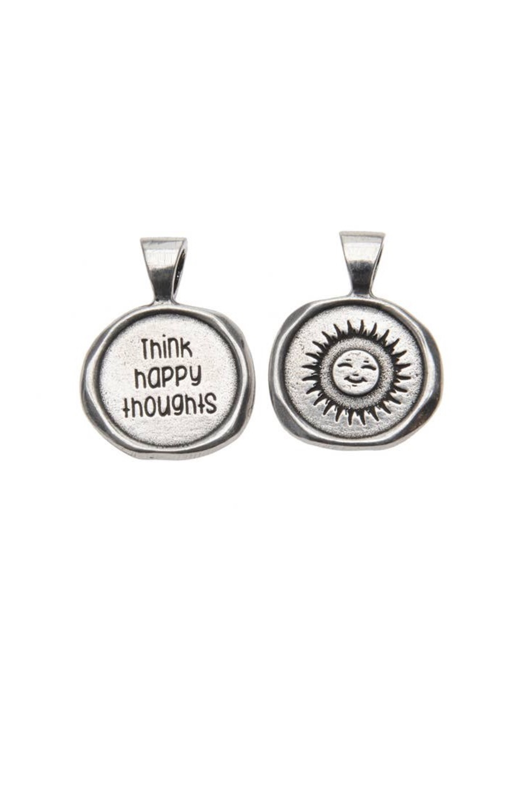Whitney Howard Designs Wax Seal Necklace - Back Cropped Image