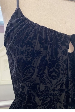 Waxing Poetic Velvet-Damask Claudette Dress - Alternate List Image