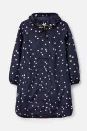 Joules Waybridge Relaxed Fit Waterproof Raincoat - Front full body