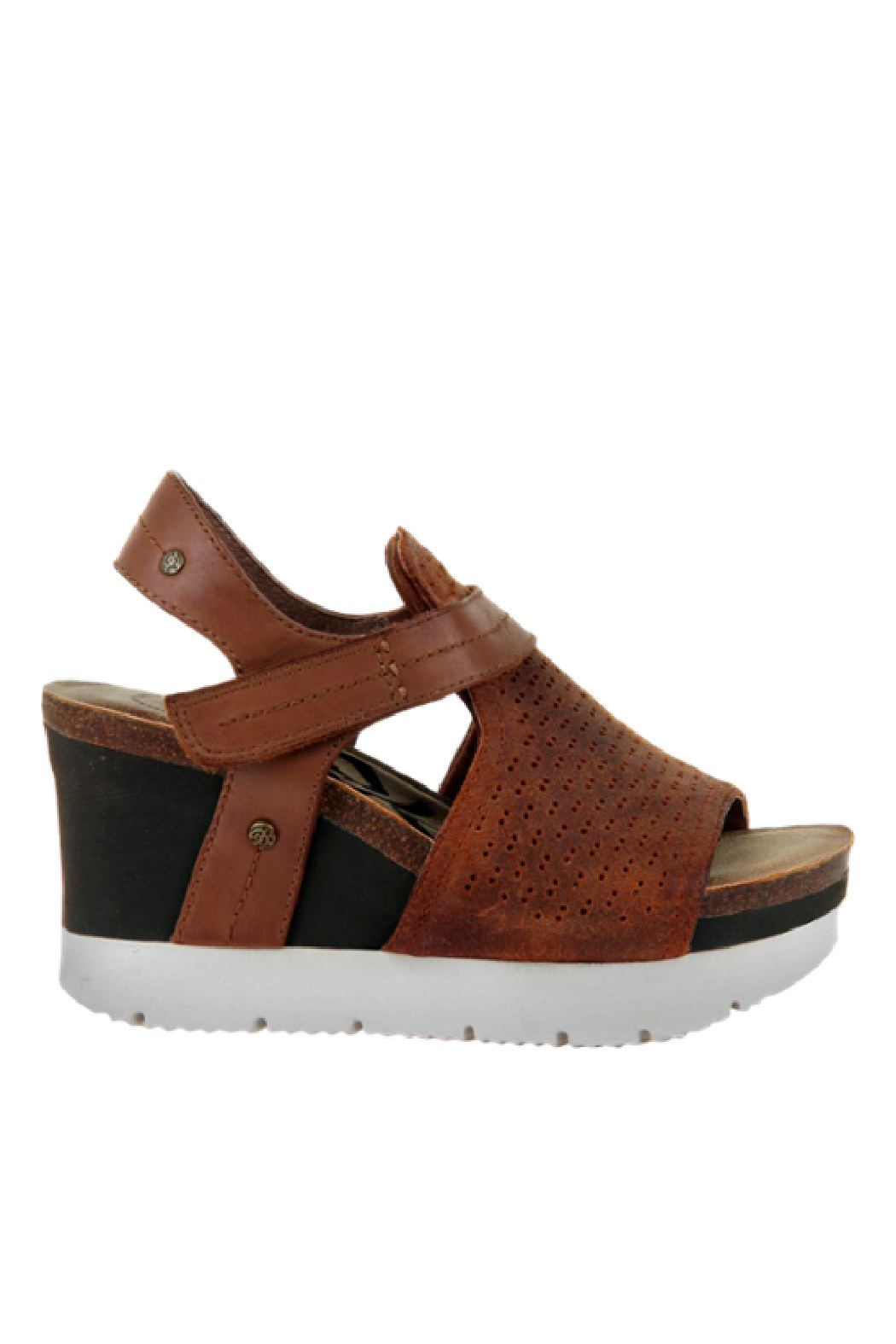OTBT Waypoint New Tan Wedge - Side Cropped Image