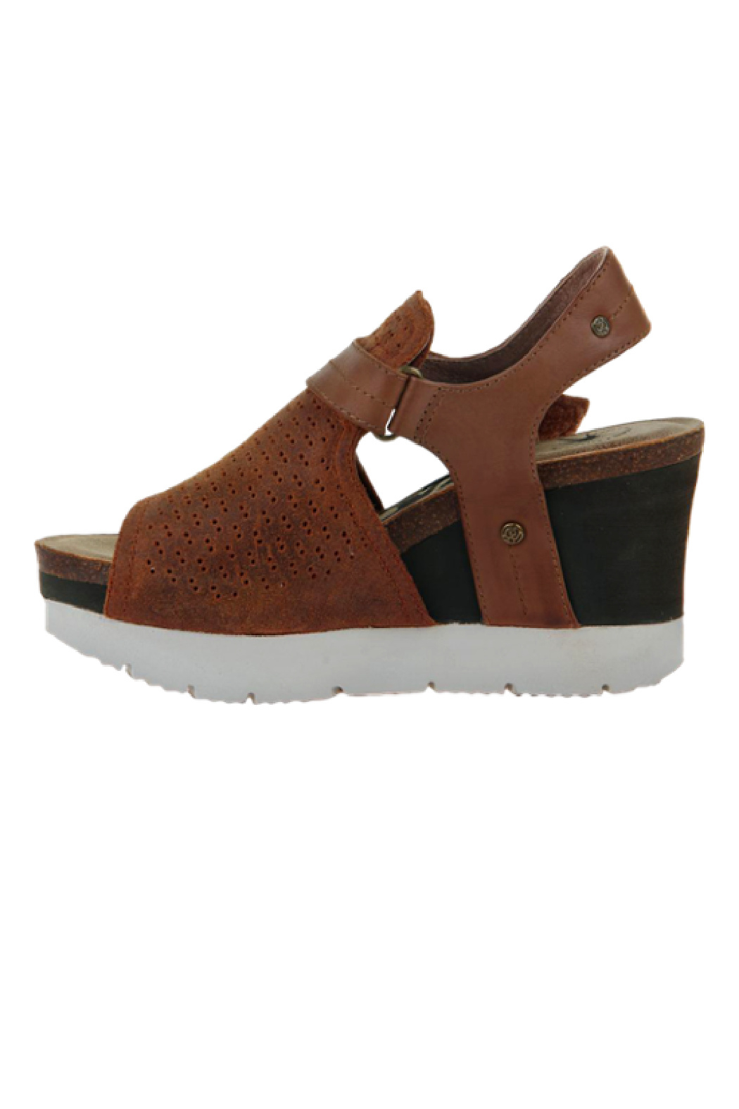 OTBT Waypoint New Tan Wedge - Front Full Image