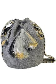 Wayuu Women Project Lorena Grey Mochila - Front cropped