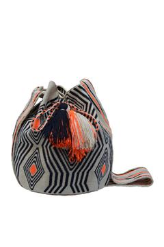 Wayuu Women Project Lorena Zebra Mochila - Alternate List Image