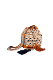 Wayuu Women Project Mustard White Mochila - Product Mini Image
